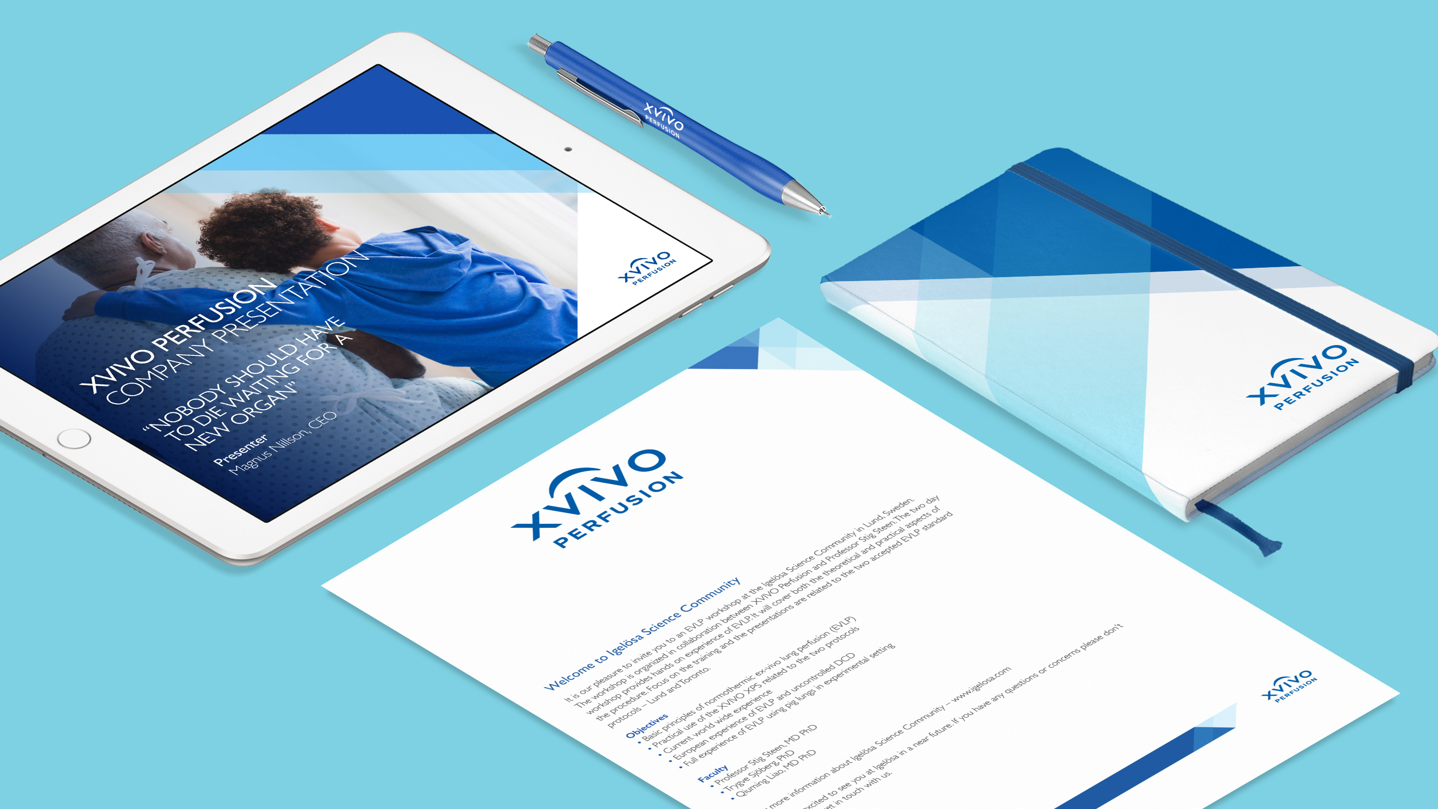 XVIVO stationery